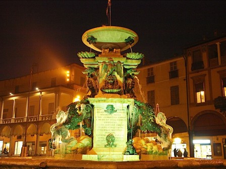 Monumental fountain