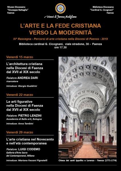 L'ARTE E LA FEDE CRISTIANA VERSO LA MODERNITA' - IV rassegna