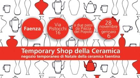 Temporary Shop, dal 28 novembre 2020 al 6 gennaio 2021