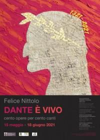Felice Nittolo  DANTE E' VIVO  cento opere per cento canti