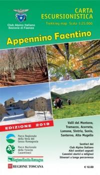 Nuova Carta Escursionistica dell'Appennino Faentino -  2019 edition
