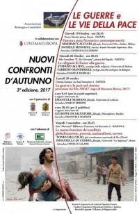 NUOVI CONFRONTI D'AUTUNNO. 3° edizione,  2017