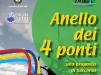"""""""Anello dei 4 ponti"""", path on the river Lamone"""